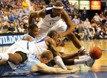 In its second high-profile game of the week, North Carolina faced off against Kentucky. DTH/Margaret Cheatham Williams