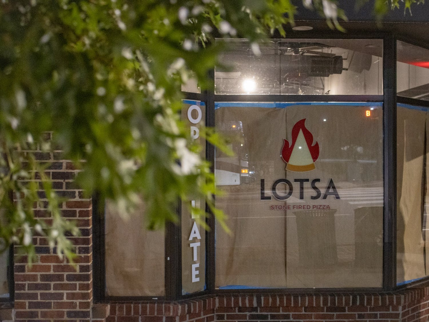 Lotsa Stone Fired Pizza closed during the pandemic. Seafood Destiny Catering, a Greensboro-based eatery, is moving into Lotsa's former location on the corner of Franklin and Columbia Streets.