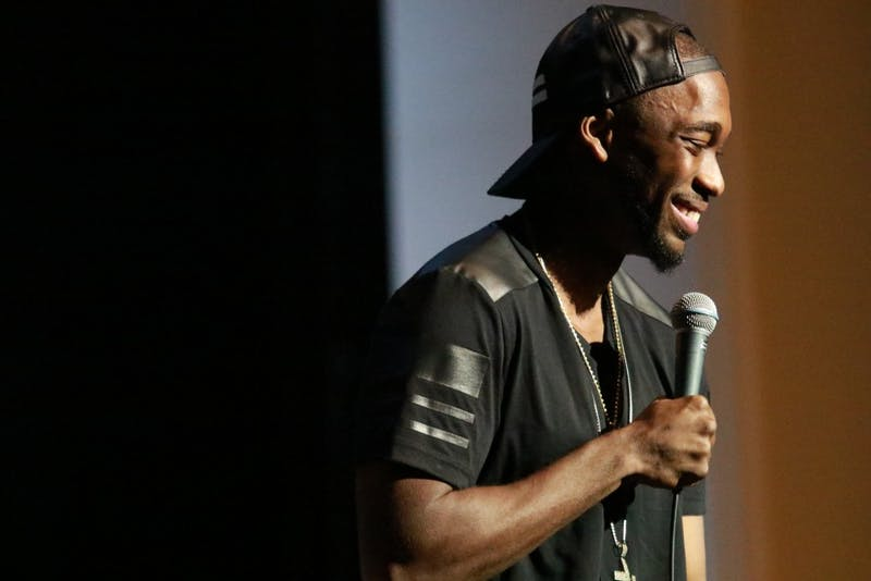 CUAB presents the 2017 Homecoming Comedy Show starring actor and comedian Jay Pharoah on Tuesday night in Memorial Hall.