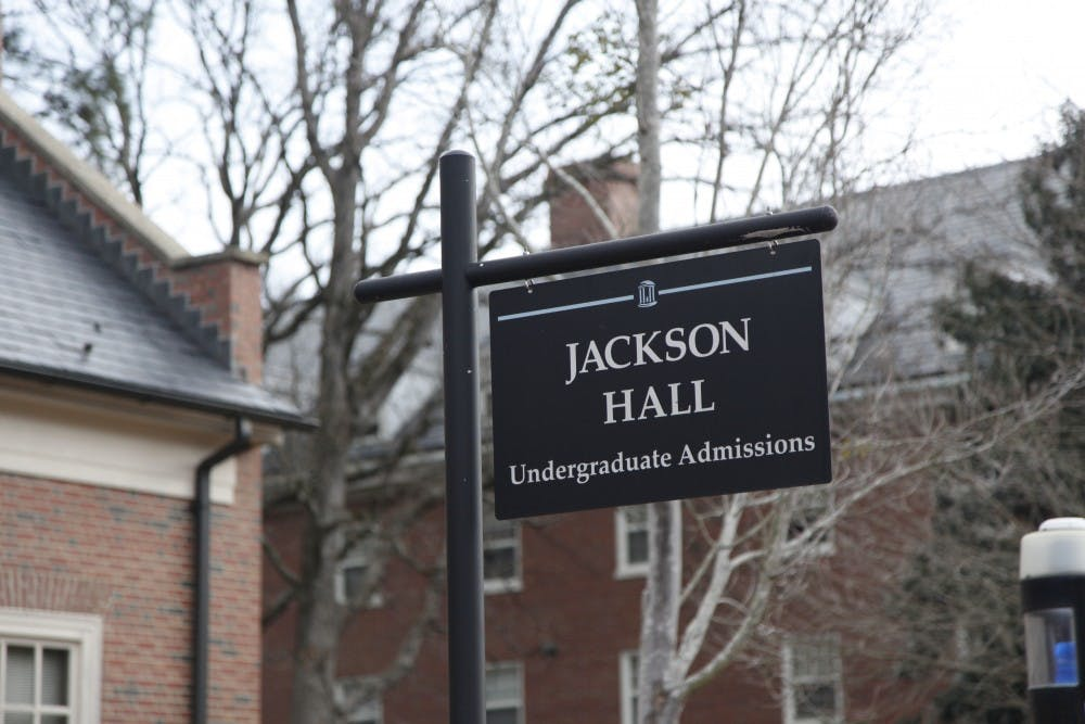 <p>Jackson Hall, home to undergraduate admissions, is named after Blyden and Roberta Jackson, &nbsp;two of the first Black faculty members on campus to receive tenure and some of the first African-American professors in the Southeast.&nbsp;</p>