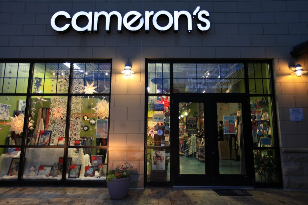 Cameron's, a unique gift shop in Carrboro, to close its doors early next year