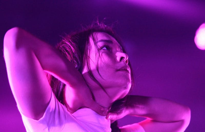Mitski performed one of two sold-out consecutive shows at Cat's Cradle on Tuesday.