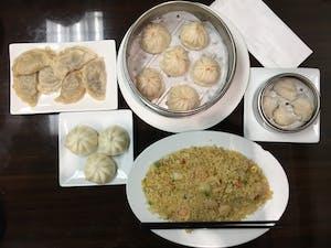 Staff writer Mattias' order at Shanghai Dumpling.