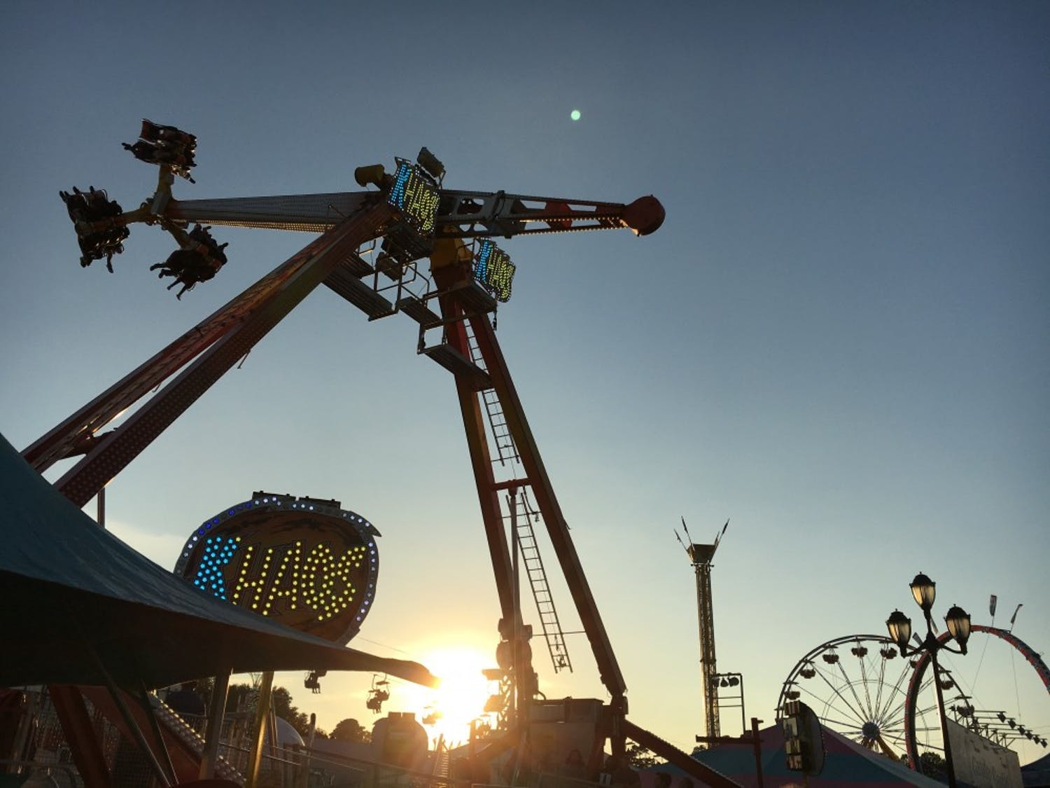 Khaos is one of many attractions at the NC State Fair.