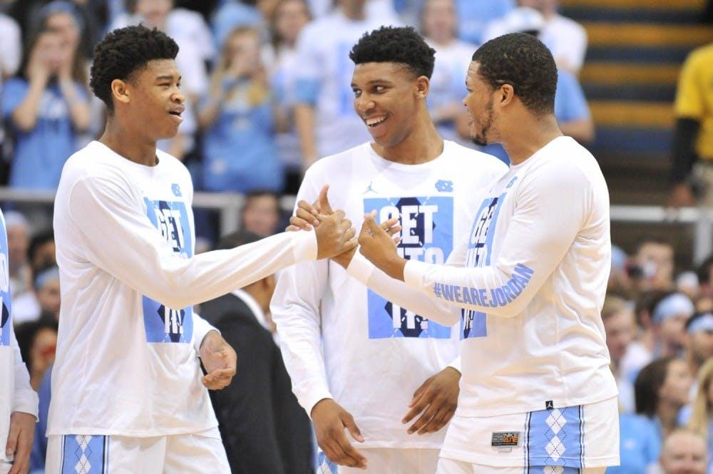 Seniors leave gap on North Carolina basketball team