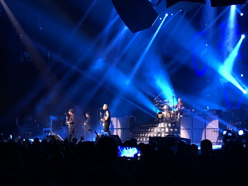 Green Day performed in Raleigh on Sept. 1.
