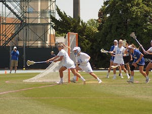 The Tarheels defeated Duke in the second round of the NCAA tournament 15-10.