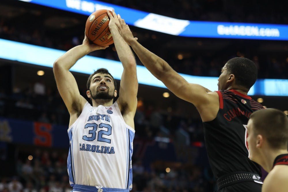 'He continues to produce and give us everything he has': Maye leads UNC past Louisville