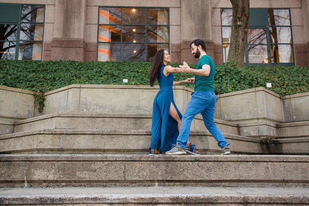 Triangle Zouk dances the night away in intimate Brazilian form