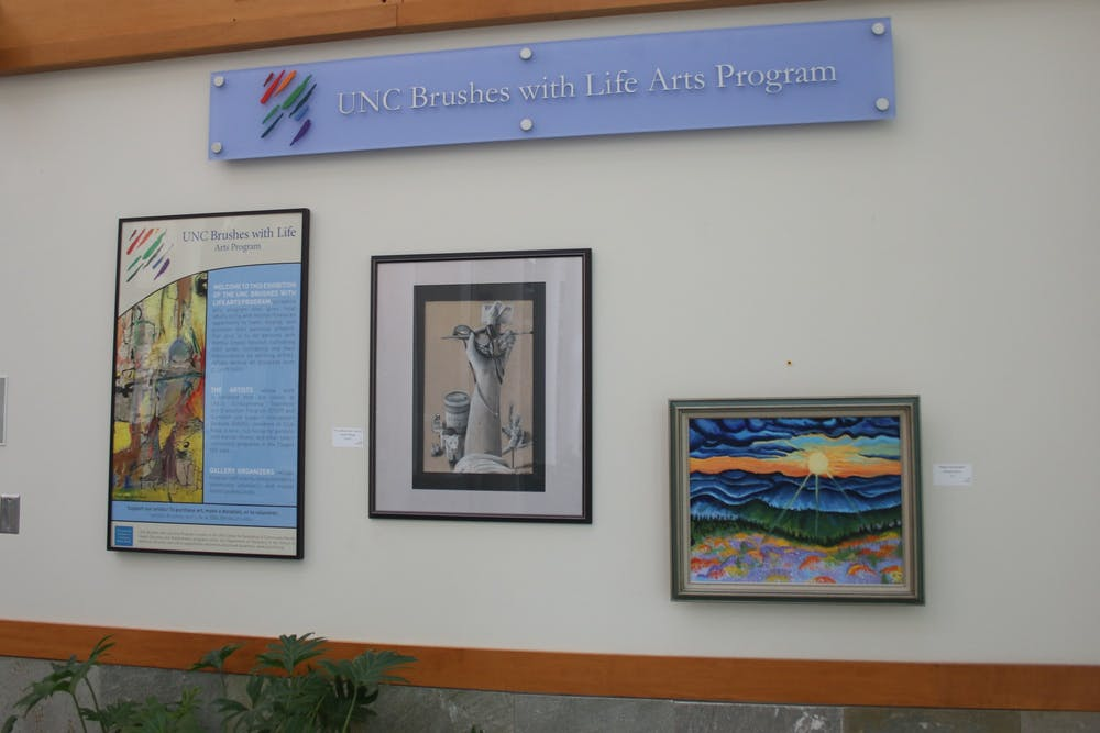 'A sense of self-expression': Brushes with Life Arts Program uses art to relieve stress