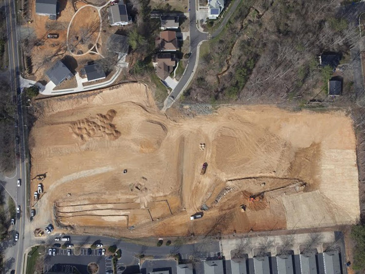 A new development coming to Carrboro has caused concern for residents based on some aspects of construction.Photo courtesy of Gary Hill.