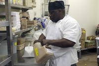 "After being released from prison, Jimmy ""Moe"" Penny was hired at K&W Cafeterias. He started his job there while he served eight years in prison."