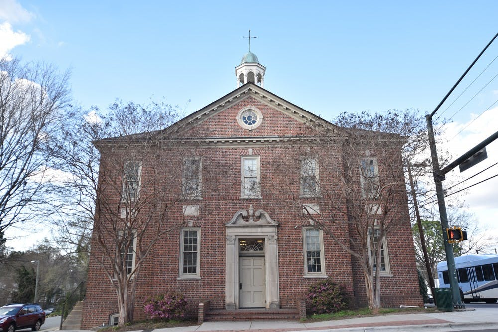 Committee discusses future of Historic Town Hall