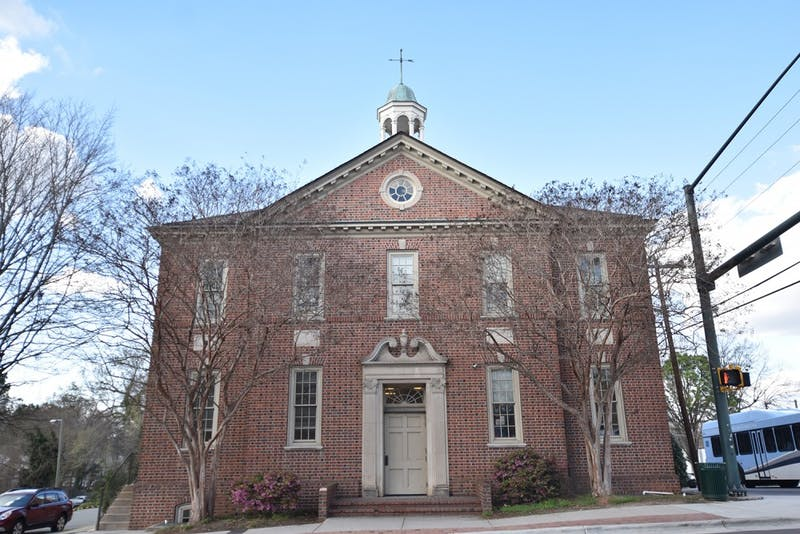 Historic Town Hall may become an Orange County visitor's center and Chapel Hill museum.