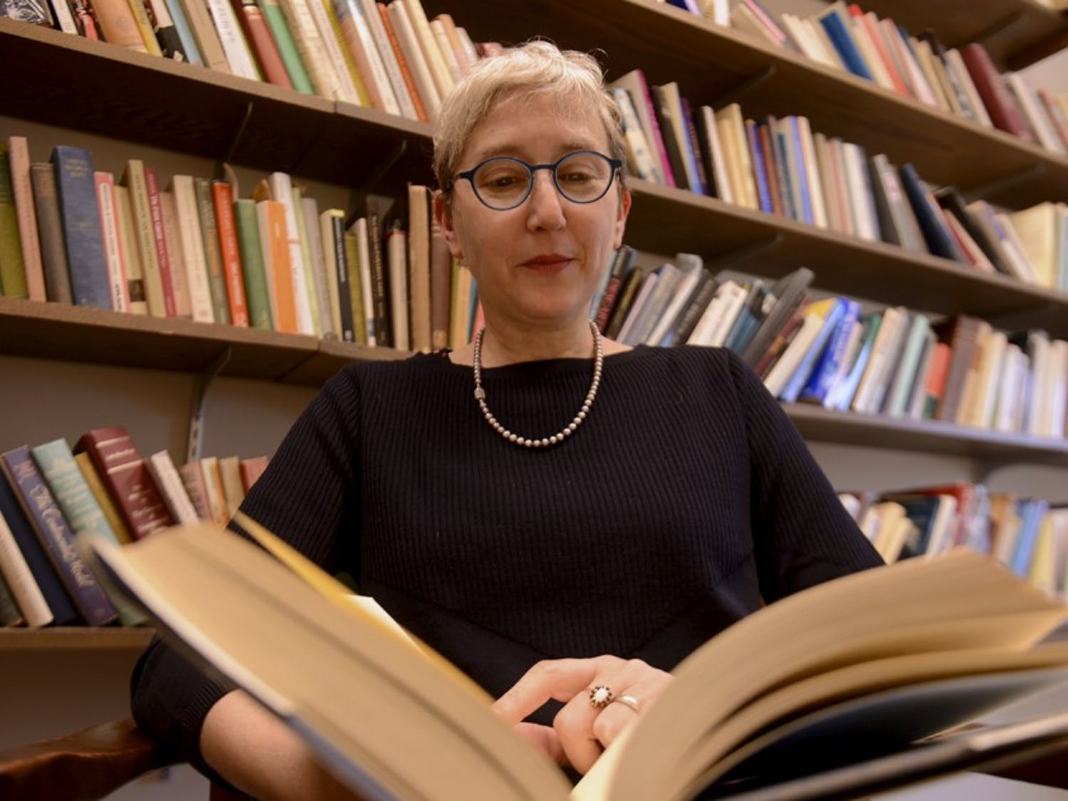 UNC professor Jessica Wolfe has been selected as one of seven long-term fellows at the Folger Shakespeare Library in 2017.