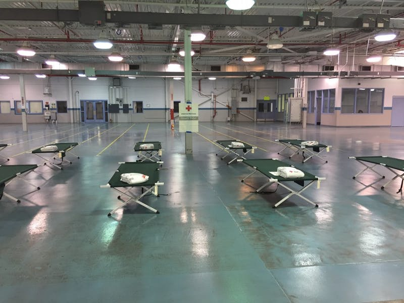 The Greensboro Red Cross created a shelter for Hurricane Irma evacuees.