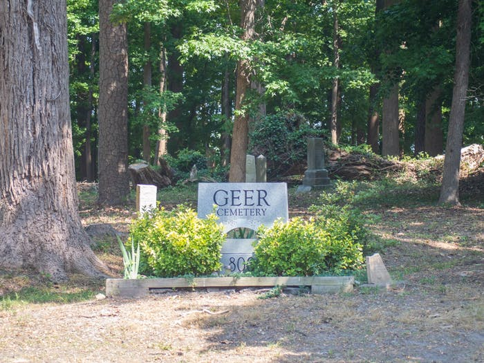Geer Cemetery, as pictured on Tuesday May 25, 2021 is a historic Black cemetary that has been neglected.
