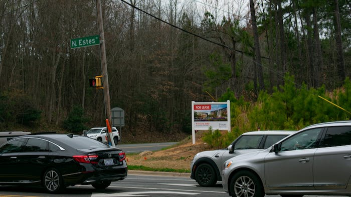 There has been discussion surrounding a new proposed development on the corner of Martin Luther King Jr. Boulevard and Estes Drive. Some of the conversation about the development has revolved around traffic concerns in the area.