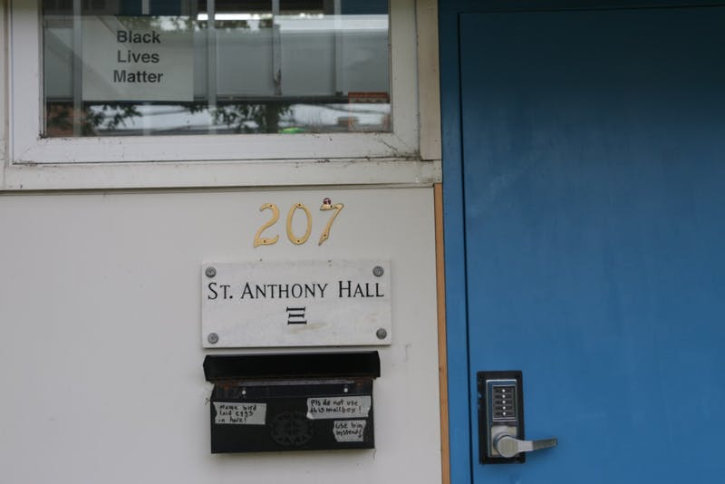 St. Anthony Hall began as UNC's first co-ed social fraternity to admit an African-American member.