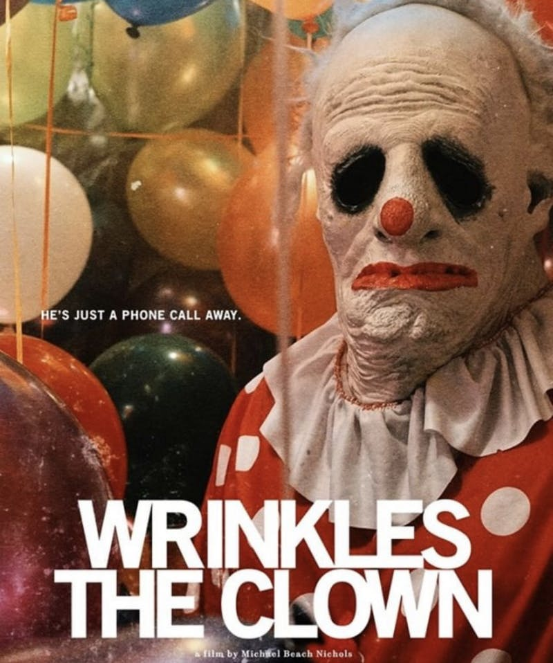 "The Carolina Theatre of Durham will host a screening of ""Wrinkles the Clown"" on Saturday, Oct. 5, 2019 at 9:30 p.m. Photo courtesy of Michael Nichols."