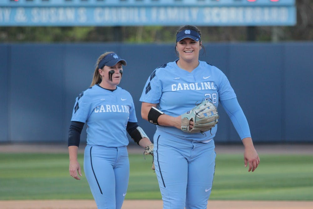 Brittany Pickett, Taylor Wike key in UNC softball's series win over N.C. State