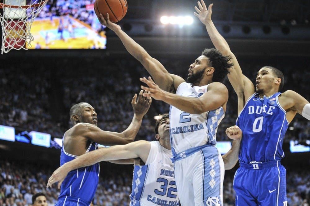 UNC and Duke athletes join for ACC Sportsmanship Week at local schools