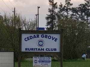 The Cedar Grove Ruritan Club recently had two new, yet-to-be-installed HVAC units stolen. The club had been saving up for three years to buy the units. Photo courtesy of Buck Curtis.