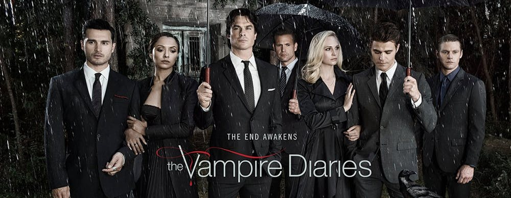 A diary entry farewell to 'The Vampire Diaries'