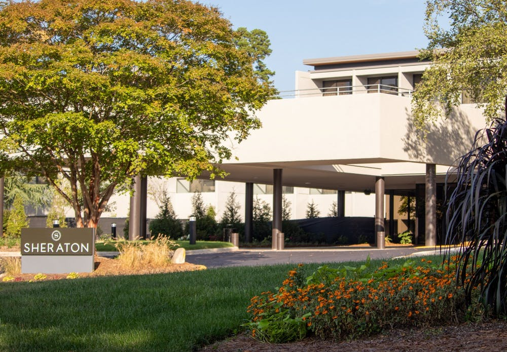 <p>The Sheraton hotel in Chapel Hill has reopened after 16 months and $15 million worth of renovations. &nbsp;</p>