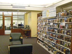 The Media Resource Center is located in the basement of the UL and is home to a plethora of fun resources including a media lab with advanced computers and editing software, a vast collection of movies, and a fleet of computers that serve as personal theaters.