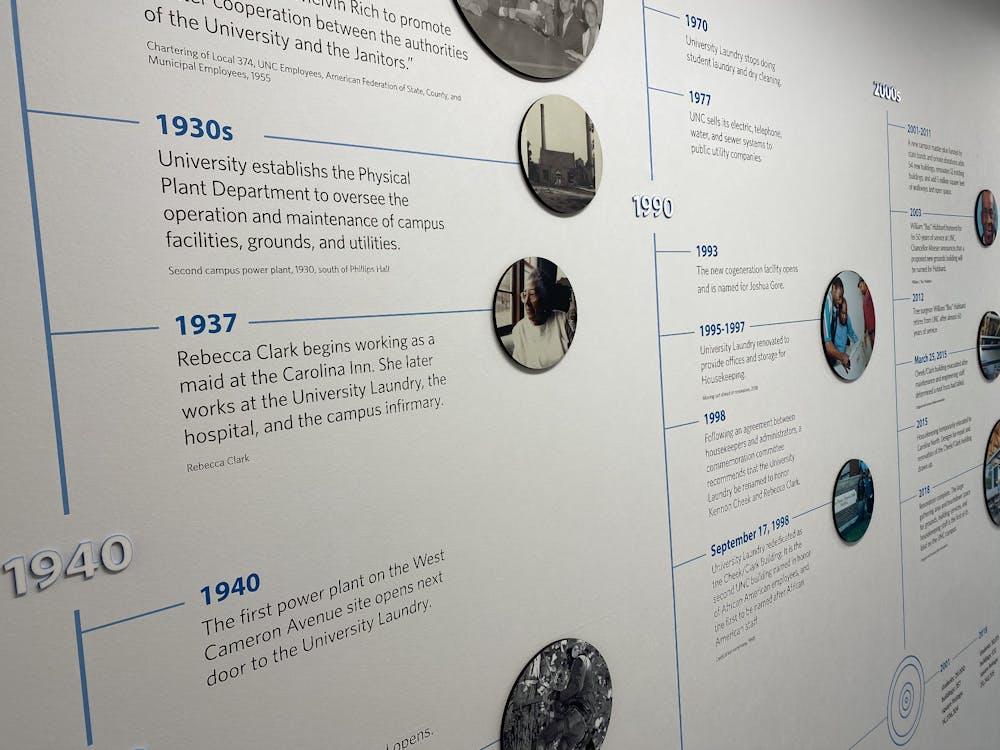 Cheek Clark Building exhibit honors integral African American staff