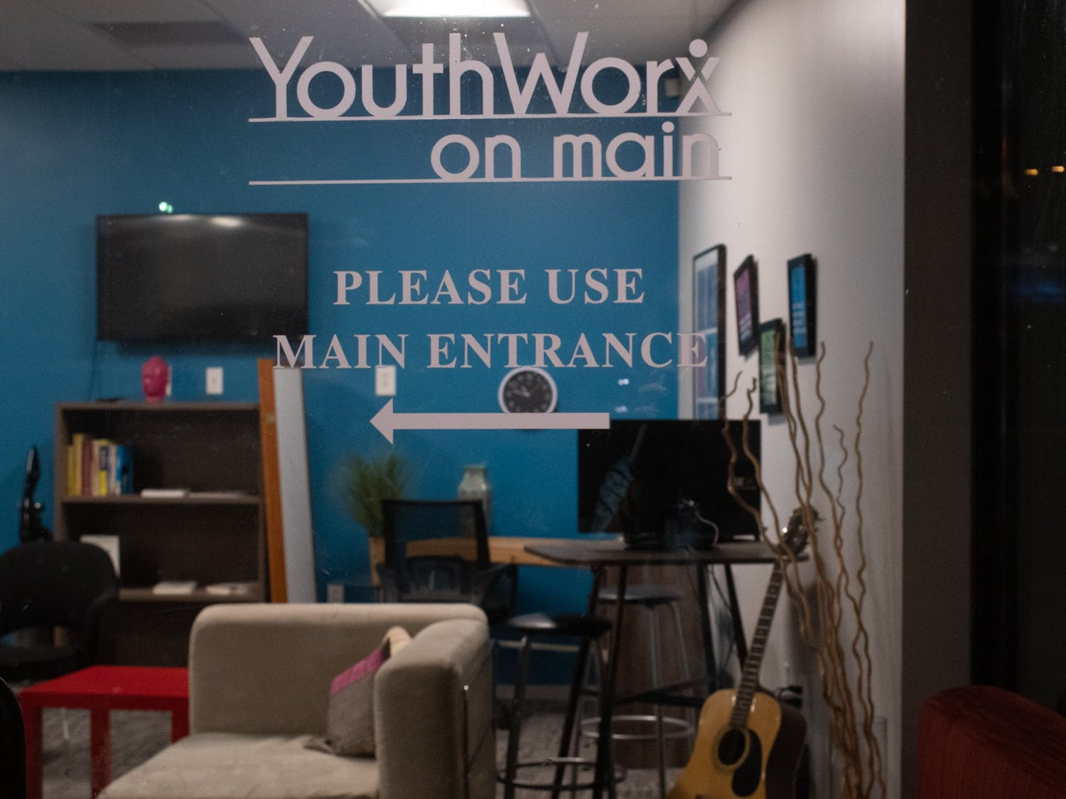 The Youth Worx building, which contains the Musical Empowerment program, is located in Carrboro, NC.