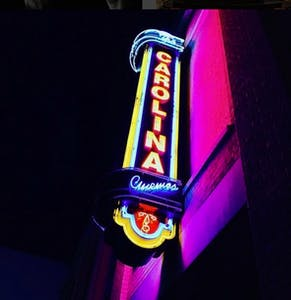 The Carolina Theatre in Durham hosts the Retro Film Series every Friday. Photo courtesy of Joe Student.