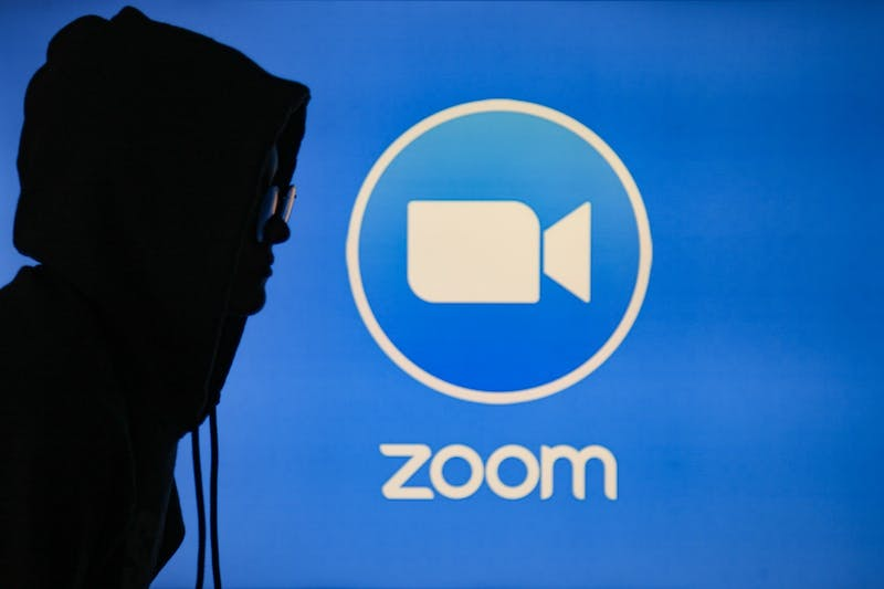 DTH Photo Illustration. With the virtual meeting platform Zoom becoming more widely used, many participants are having to grapple with 'Zoombombers', or uninvited users who intend to disrupt meetings and events. One such event was a virtual law enforcement transformation town hall hosted by the Northern Orange NAACP on Sunday, July 26, 2020.