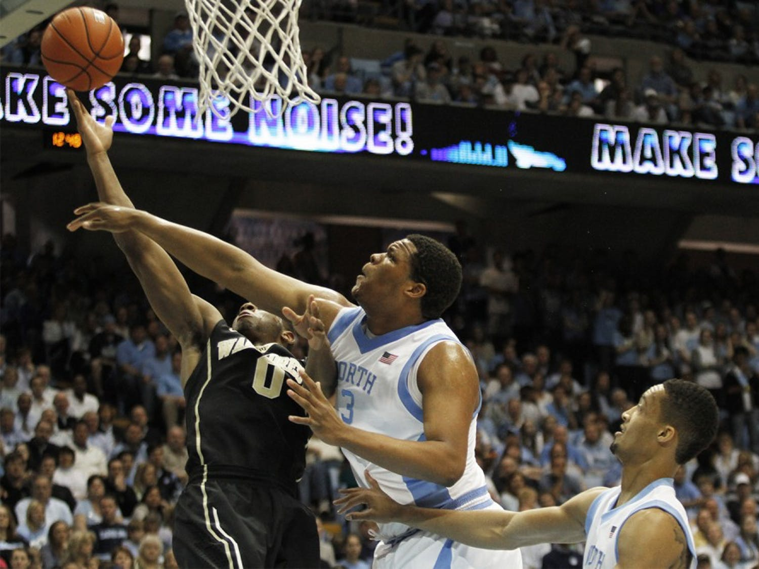 UNC Men's Basketball beat Wake Forest 105-72 on Saturday February 22.