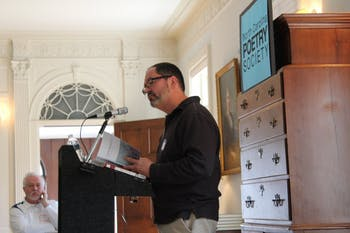 Steve Cushman is one of the poets in the North Carolina Poetry Association. Photo courtesy of the North Carolina Poetry Society Facebook.