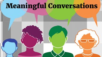 Meaningful Conversations Chapel Hill will hold their next meeting on Jan. 15 at the Chapel Hill Community Center. Graphic courtesy of Brian Kurzius.