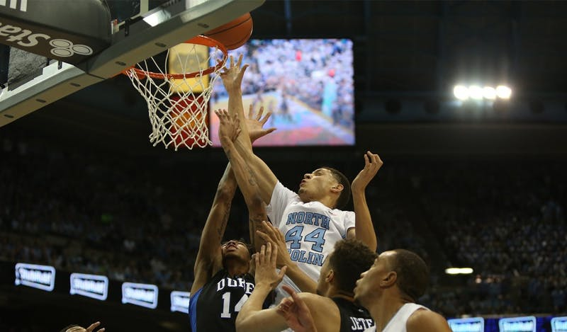 The UNC men's basketball team lost to Duke in the Dean Dome on Wednesday evening.