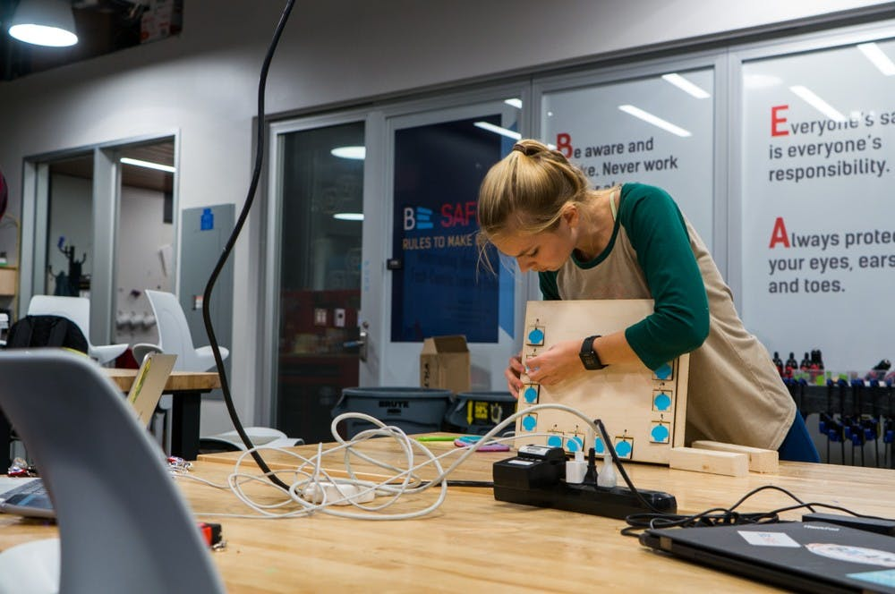 From holiday gifts to clothing lines: How UNC students use BeAM makerspaces