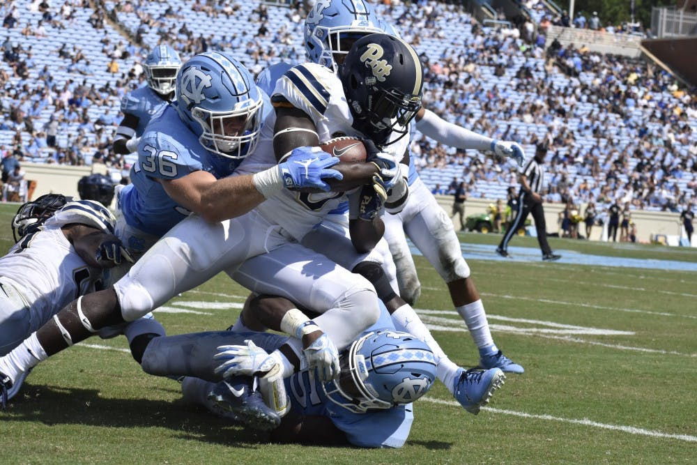 UNC football 'finds its bite' during explosive third quarter in 38-35 win over Pitt