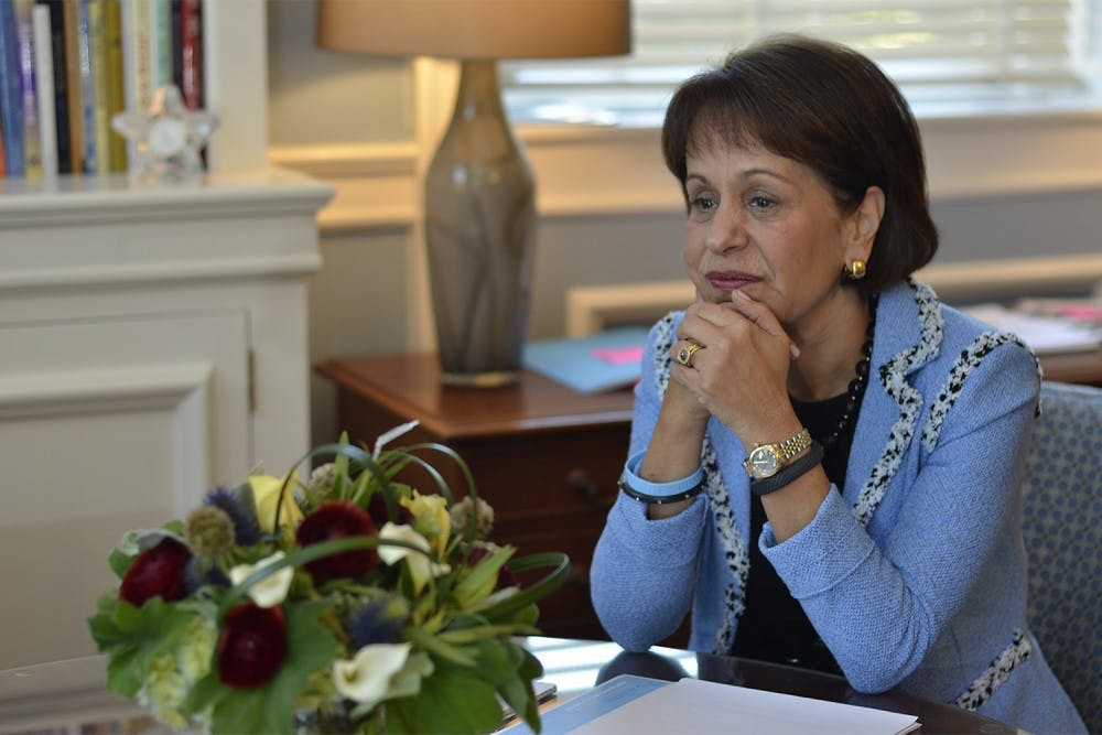 <p>Chancellor Carol Folt promised to give disciplinary action to nine employees upon receiving the Wainstein report.</p>