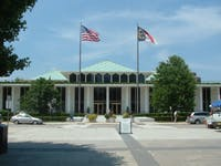 The North Carolina State Legislative building is located at 16 W. Jones St. in downtown Raleigh.