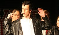 Chemistry major Nate Swofford plays Danny in the Pauper Players production of  the classic musical Grease at the Carrboro ArtsCenter. It opens Friday night at 8 p.m.