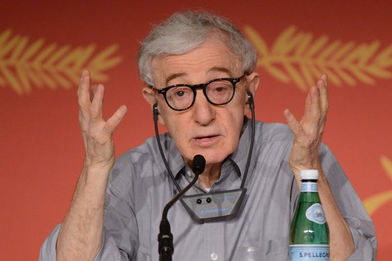"Woody Allen speaks at the ""Cafe Society"" press conference as part of the 69th Cannes Film Festival in Cannes, France, May 11, 2016. Woody Allen's adopted daughter has appeared on CBS Jan. 17, 2015 to talk about her sexual assault claim against the director. The 32-year-old has repeatedly accused Allen of molesting her when she was seven - claims the director has always denied (Aurore Marechal/Abaca Press/TNS)."