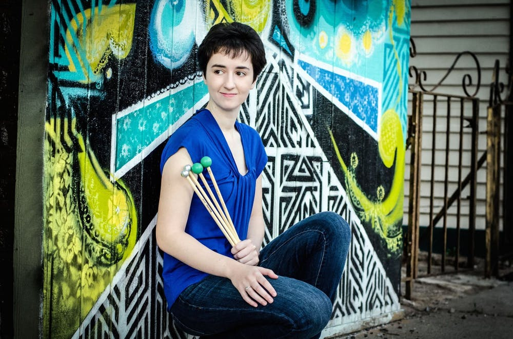 Percussionist Colleen Bernstein is bringing strength and sensitivity to UNC