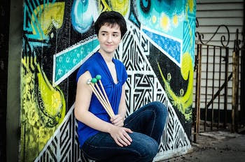 Colleen Bernstein will be performing as a percussionist on Jan. 17, 2020 at 7 p.m. for the first time at UNC. The performance will be held in the Rehersal Hall of the Kenan Music Building. Photo courtesy of Nadine Sherman Photography.