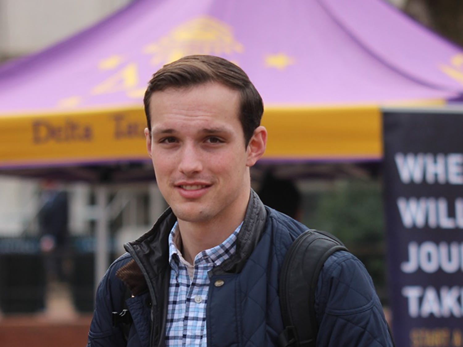 Matthew McKnight is a junior public policy and history major and is running to be the Student Body President.