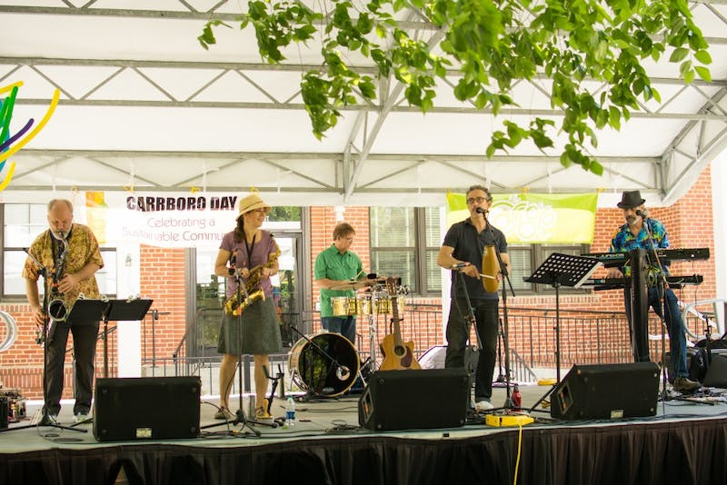 Carrboro Recreation and Parks is teaming up with West End Poetry Festival to host the Carrboro Day 2019 celebration from 1 p.m. to 5 p.m. on May 5 at the Town Hall. Photo courtesy of Emma Griffin.