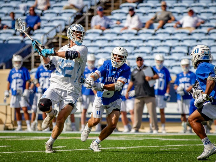 In the final game of the regular season for the North Carolina men's lacrosse team, a 15-12 win over Duke helped the Tar Heels clinch a share of the ACC regular-season title. For the second season in a row, the ACC did not hold a tournament for men's lacrosse on the recommendation of the ACC coaches.