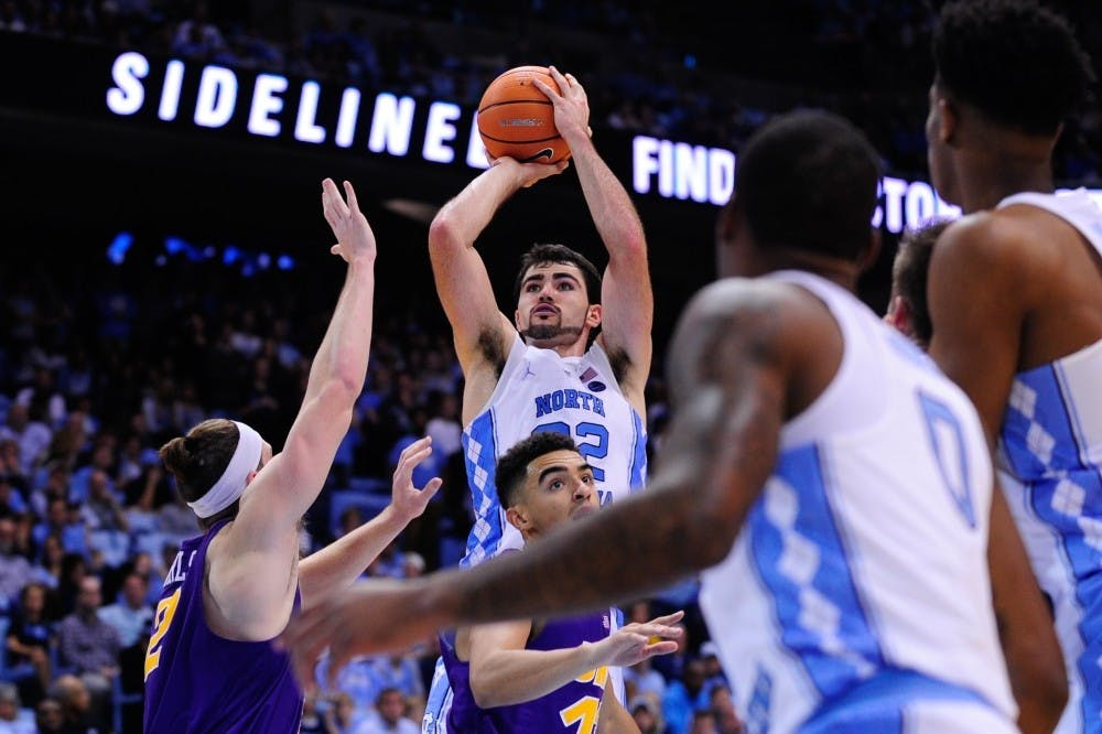 Juniors lift Tar Heels over Northern Iowa in season-opening win